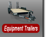 Heavy duty equipment trailers and dump trailers